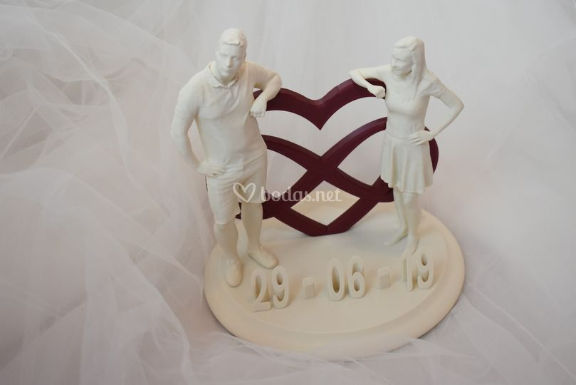 Figuras para la boda