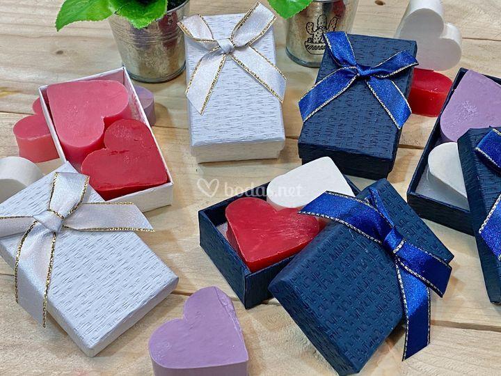 Jabones en caja de regalo