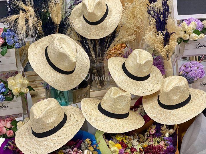 Sombrero Panama mimbre
