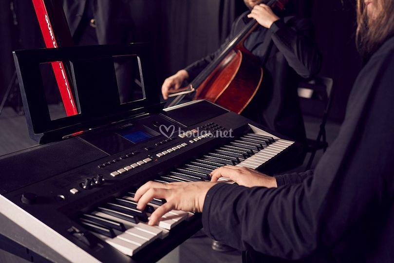 Trío: piano, violín y cello