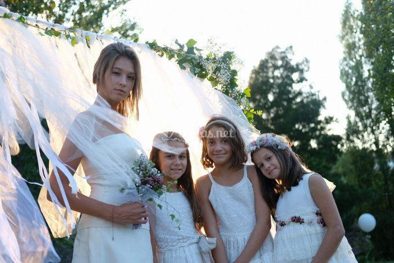Vestidos de novia y comunión