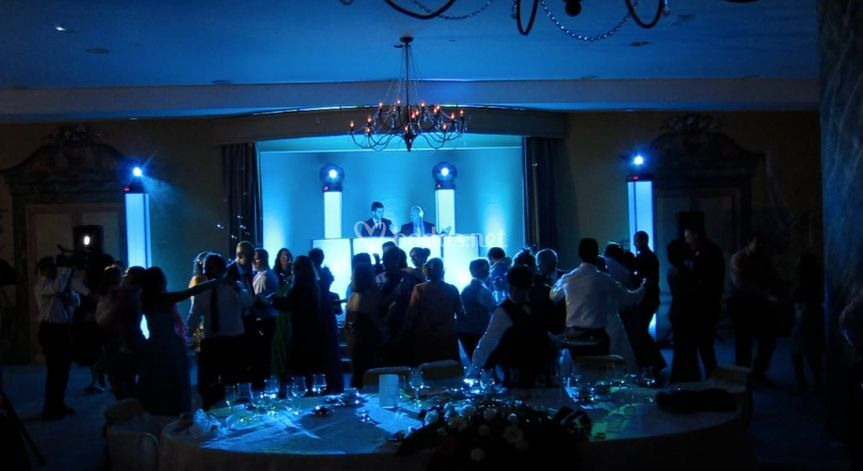Pista de baile boda Las Palmas