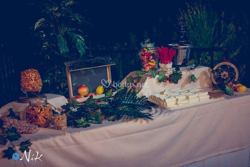 Mesas dulces & saladas