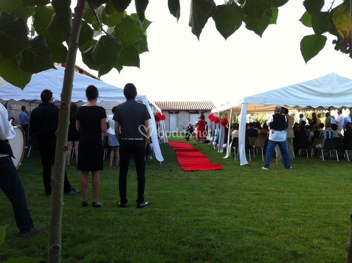 Carpas Ceremonia