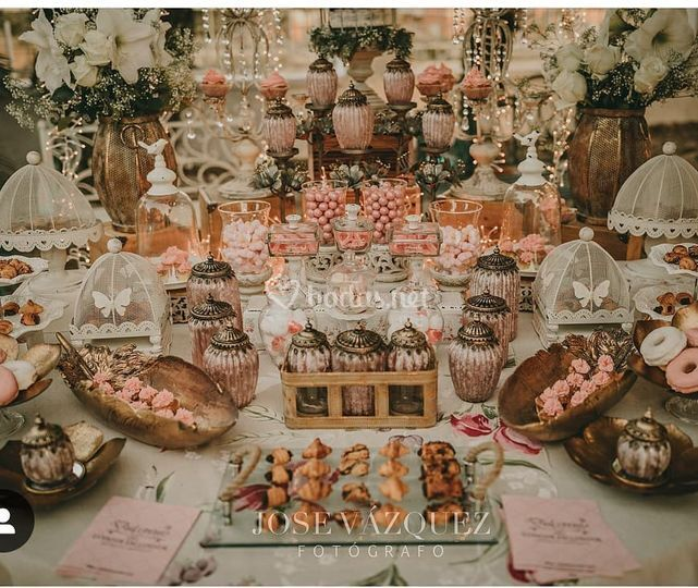 Mesas dulces espectaculares