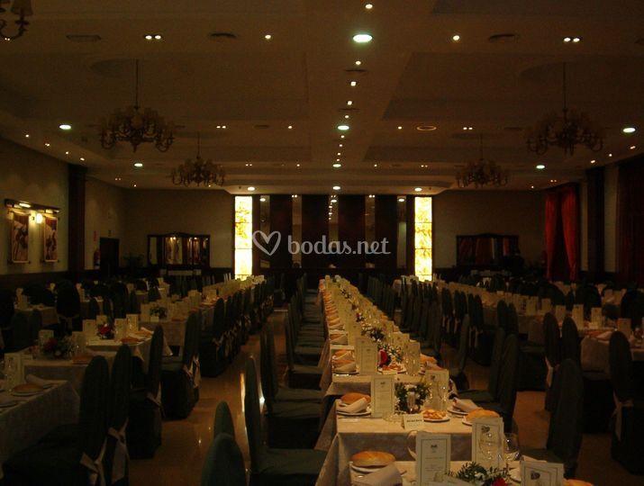 Banquete mesa larga