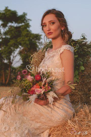 Las novias y sus flores