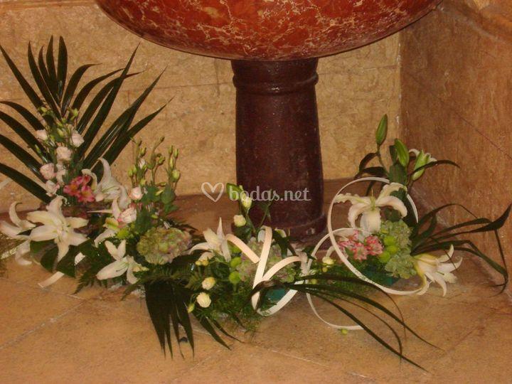 Decoración ceremonia