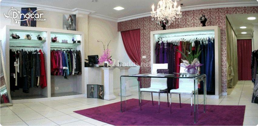 Interior tienda D'nacar