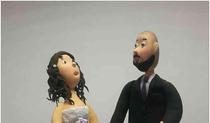 Figuras de novios para la boda