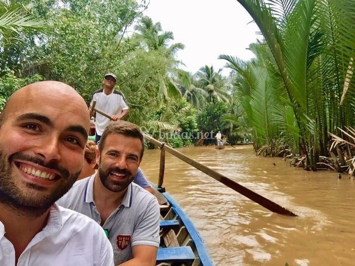 Eduardo y Fidel - Vietnam