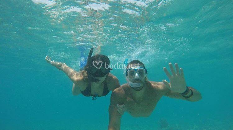 Belinda y Carlos - Maldivas