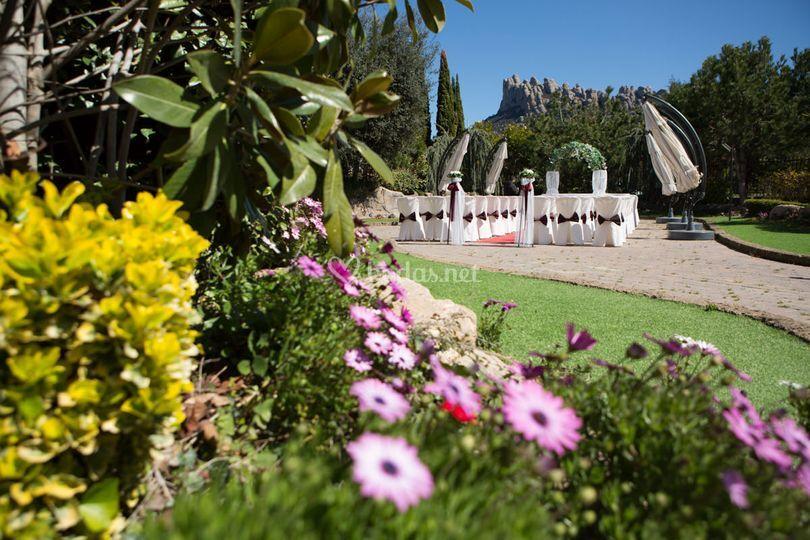 Ceremonia jardin