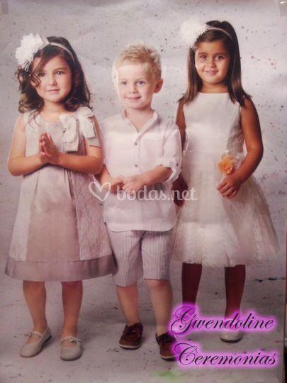 Niños de arras en Orense
