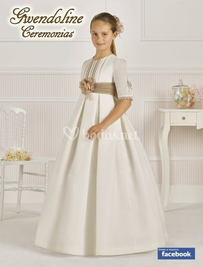 2b659b602 vestidos comunion seda rustica