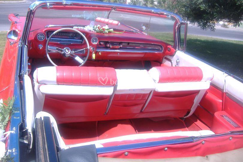 Interior Cadillac 59