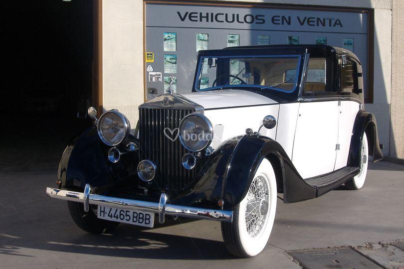 Rolls Royce año  1937