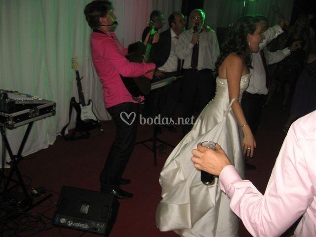 Animación en baile de boda