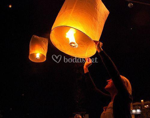 Linterna  Thai