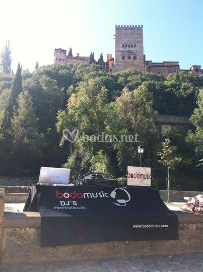 Bodamusic Granada
