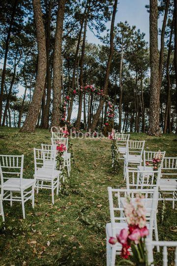 Ceremonia bosque