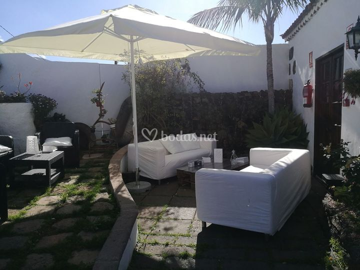 Zona chill out adultos