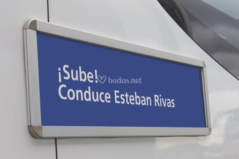 ¡Sube! Conduce Esteban Rivas