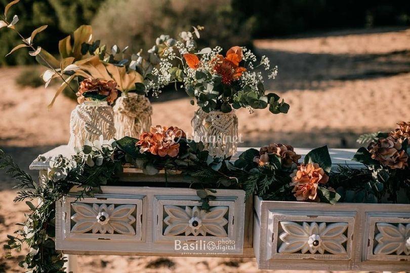 Rincones para tu boda