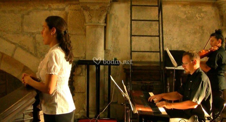 Soprano violín órgano