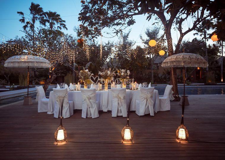 Sombrillas balinesas Pattaya