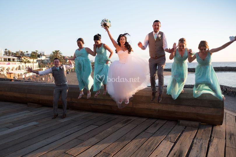 Fotografías de bodas creativas