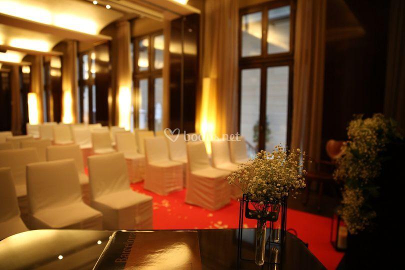Salón de ceremonia