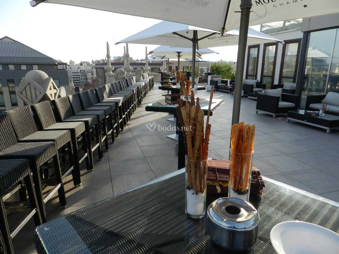 Montaje Cocktail Terraza De Hotel Casa Fuster Foto 30