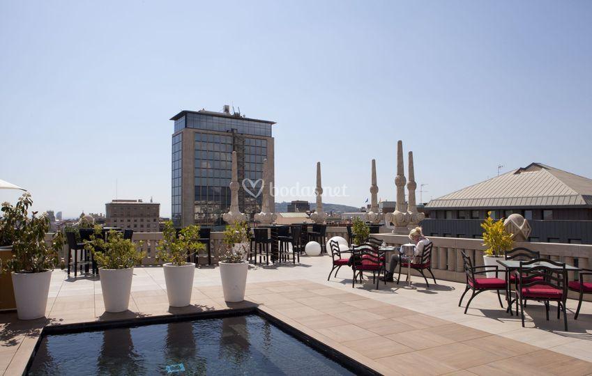 Hotel casa fuster - Hotel casa fuster terraza ...