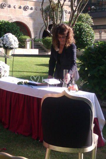 Oficiante Ceremonias