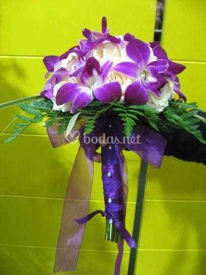 Bouquet de dendrobium