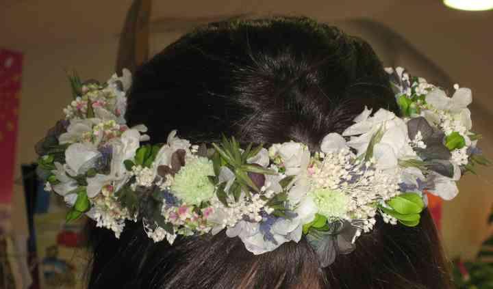 Coronita de novia