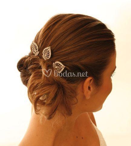 Horquilla peinado novia