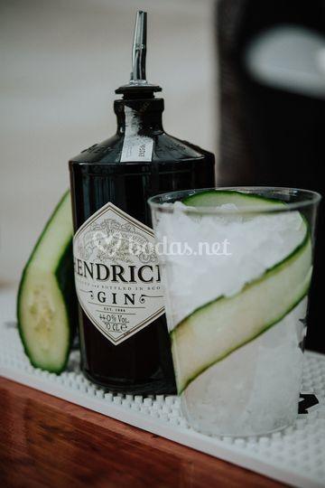 Gin Tonic especial Hendricks