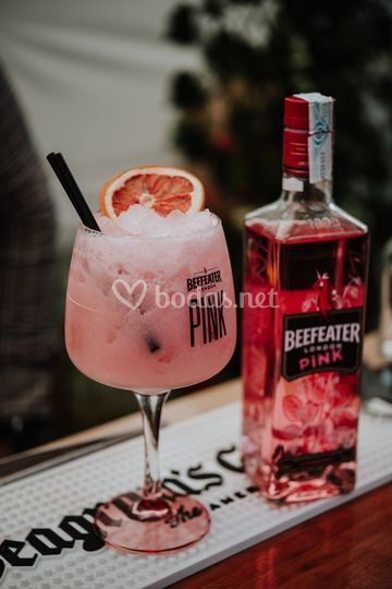 Refrescante Gin Tonic Pink