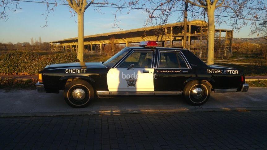 Coche de policia