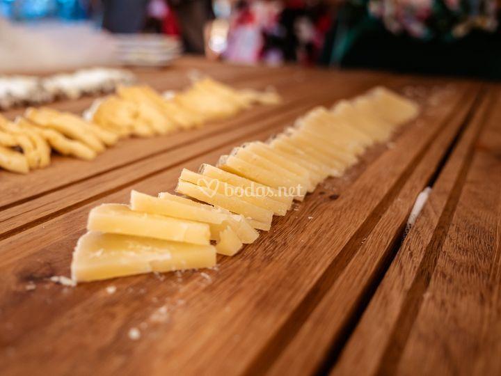 Bufet de queso