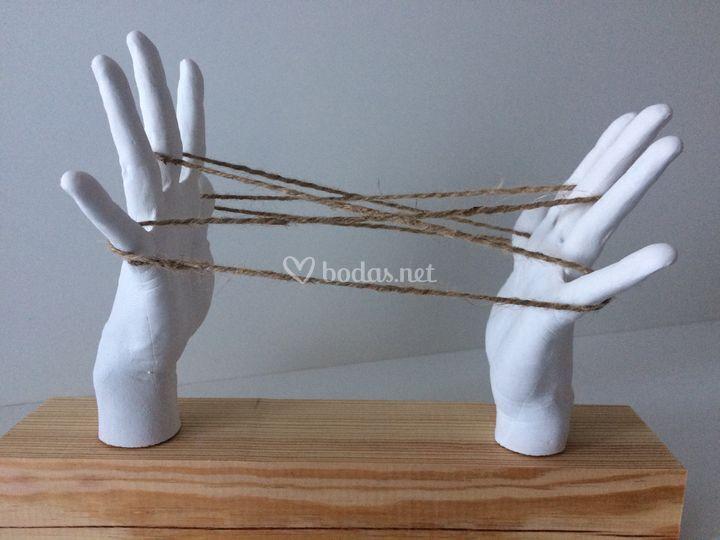 Unión con hilos
