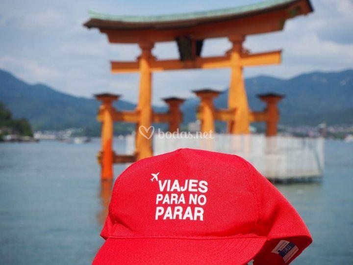 Viaje de novios en Japón