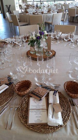 La mesa más bonita