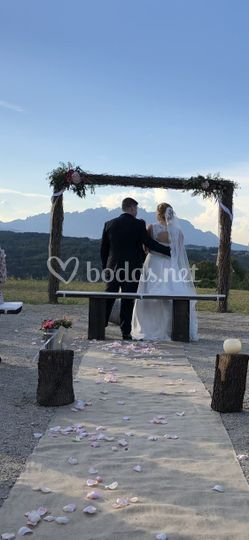 Novios ceremonia