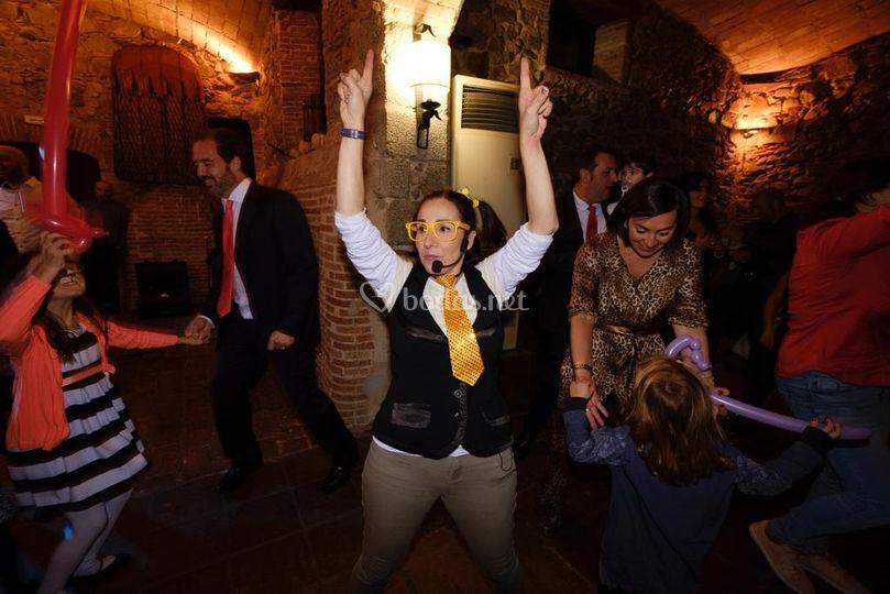 Bailando con los papis