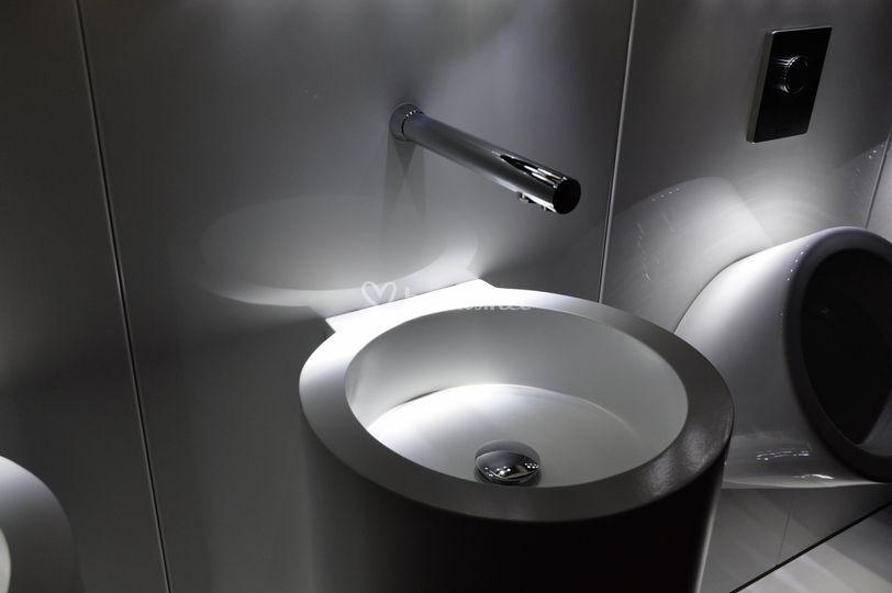 Detalle del lavamanos