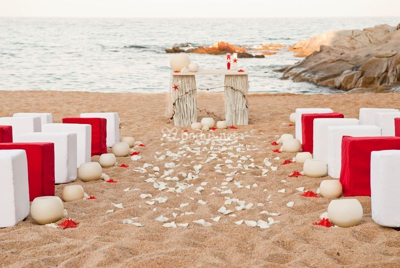 Boda en la playa Èxit Events