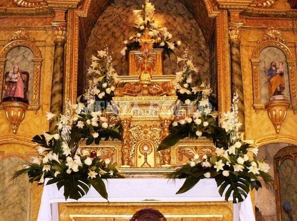 Decoración altar